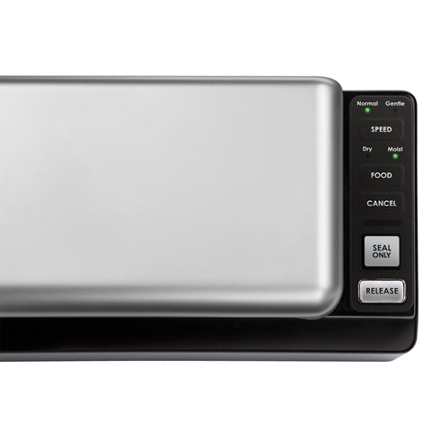 SousVide Supreme Vacuum Sealer VS3000 buttons and display