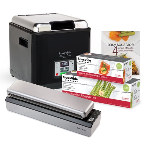 SousVide Supreme Demi Water Oven and accessories