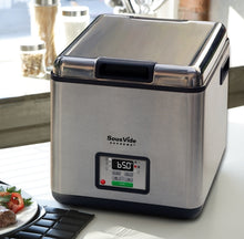 Aerial table top view of SousVide Supreme Stainless Steel Water Oven