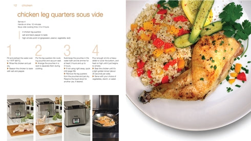 Sample chicken recipe from Easy Sous Vide Cookbook
