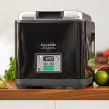 Sousvide Supreme Demi Water Oven wood counter view
