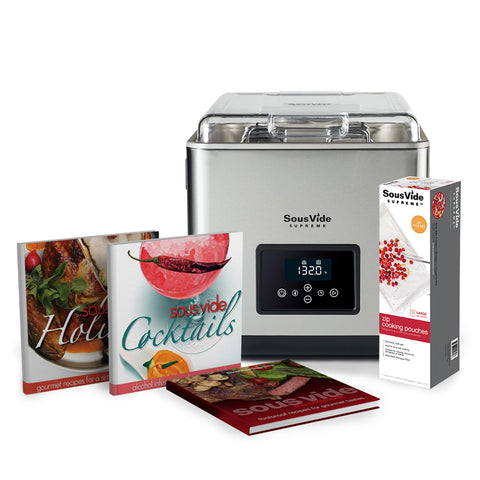 SousVide Supreme 11 Liter Touch+ Promo Pack
