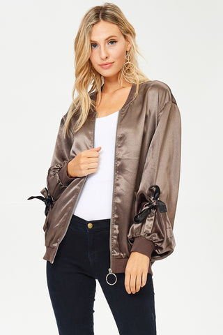 Contrast Military Jacket