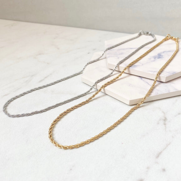 Marina Rope Chain Necklace