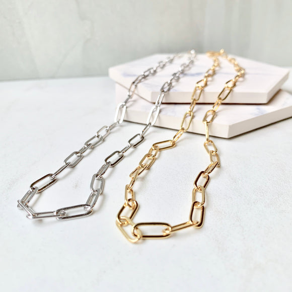 Haven Paperclip Necklace