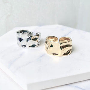 Crinkle Band Ring