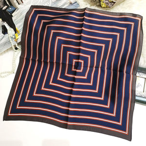 Bandanna Styled Strip Scarf