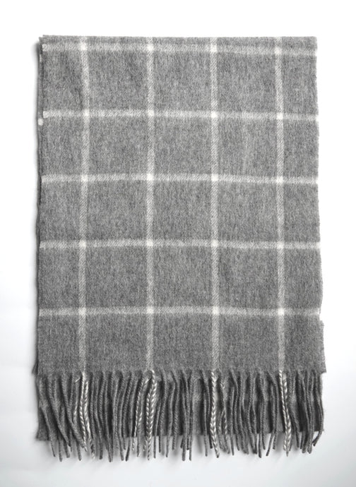 The Classic Check Wool Scarf