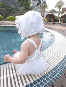 White Ballerina Swimsuit