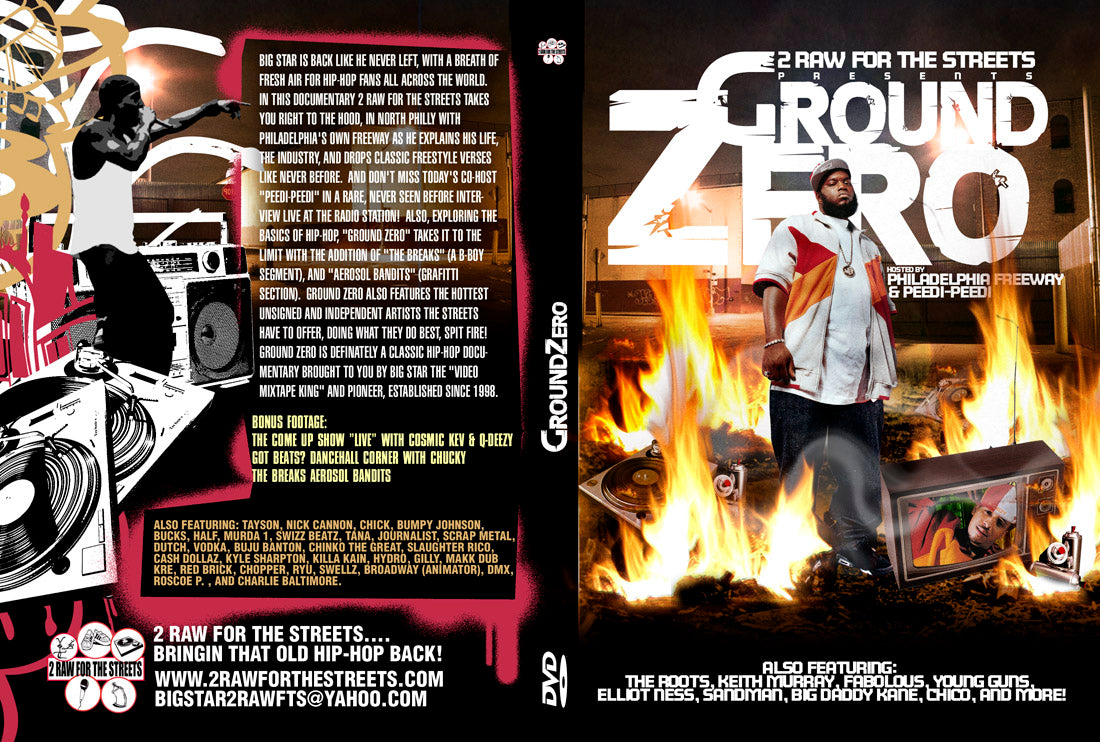 Ground Zero hosted by FREEWAY (DVD Hard Copy)