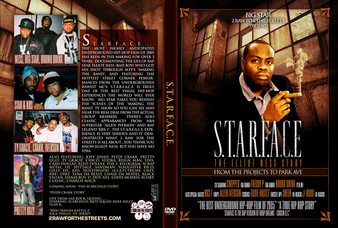 Starface The Elliot Ness Story (DVD Hard Copy)