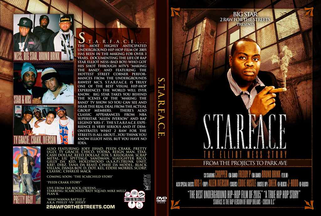 Starface The Elliot Ness Story (DIGITAL FILE DOWNLOAD)