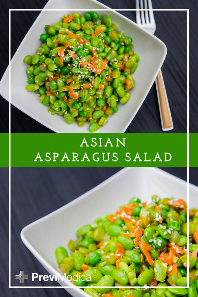 {Previ Culinary} Asian Asparagus and Edamame Salad