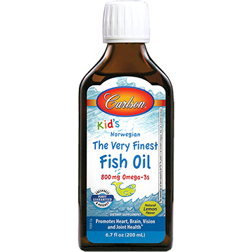 Carlson Labs for Kids Fish Oil Lemon 200 ml (KFOL2)