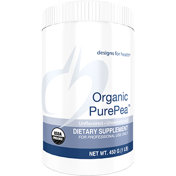 Designs for Health Organic PurePea Unflavored/Unsweetened 450 g (D04498)