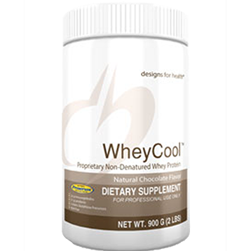 Designs for Health Whey Cool Natural Choc Flavor 900 gms (WCC900)