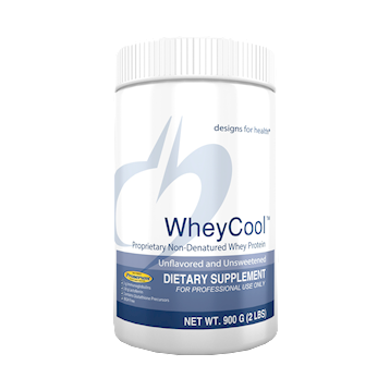Designs for Health Whey Cool Natural Flavor Unsweet 900 gms (WHEY5)