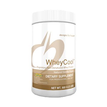 Designs for Health Whey Cool Vanilla Flavor 900 gms (WHEY6)