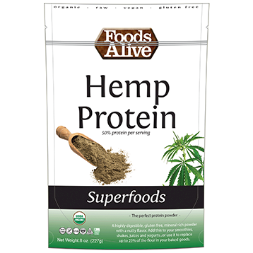 Foods Alive Hemp Protein Powder - 8 oz (FAL355)