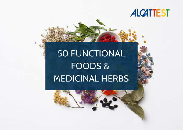 50 Functional Foods & Medicinal Herbs - Alcat Test Panel