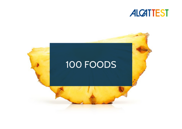 100 Foods - Alcat Test Panel