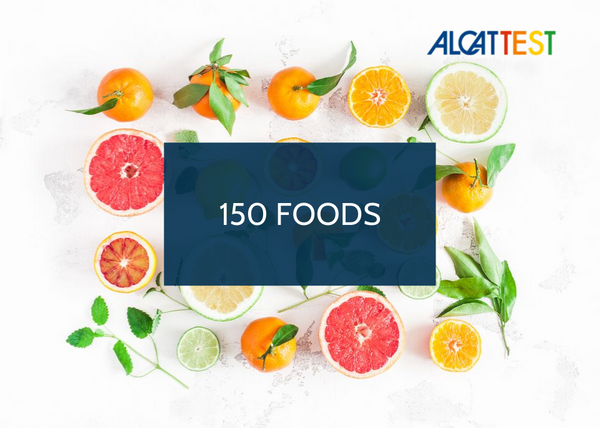 150 Foods - Alcat Test Panel