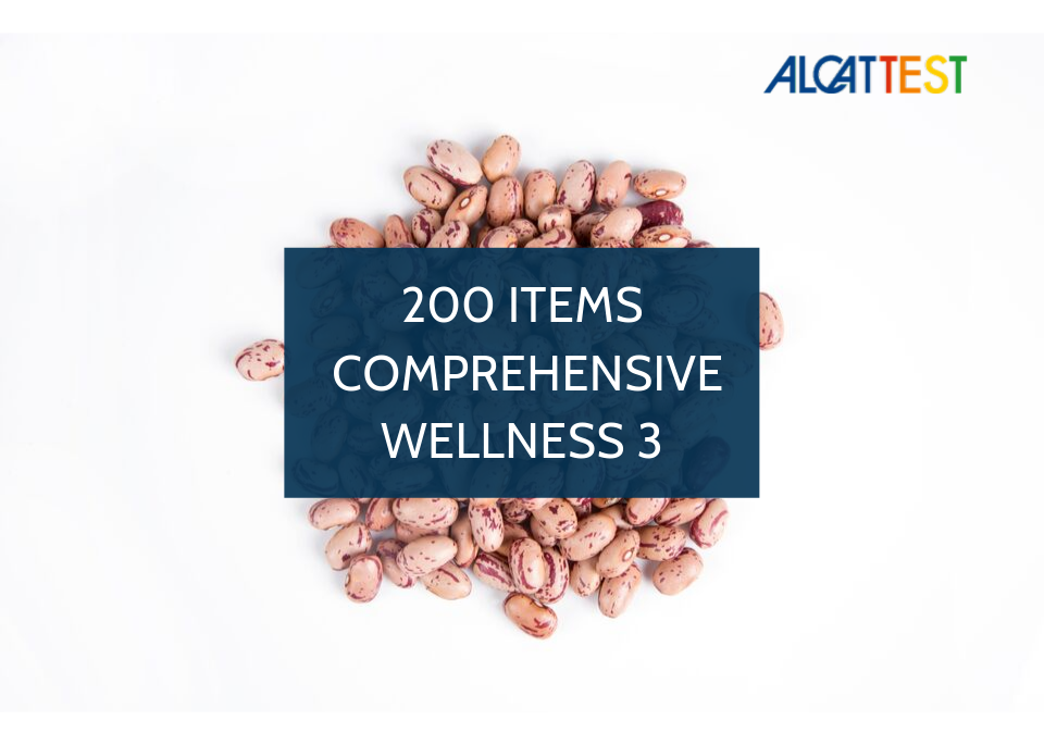 200 Items - Comprehensive Wellness 3 - Alcat Test Panel