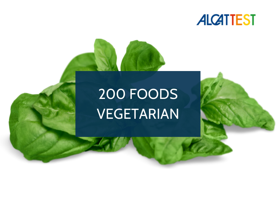 200 Foods (Vegetarian) - Alcat Test Panel