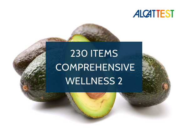 230 Items - Comprehensive Wellness 2 - Alcat Test Panel