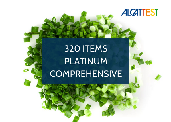320 Items - Platinum Comprehensive - Alcat Test Panel