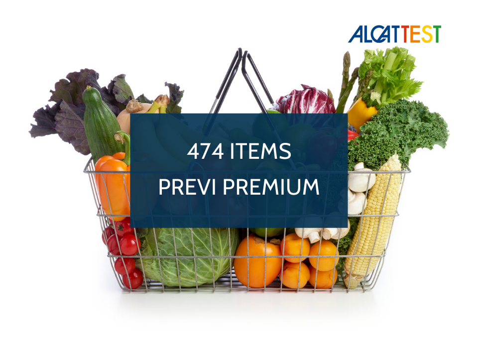 474 Items - Previ Premium - Alcat Test Panel