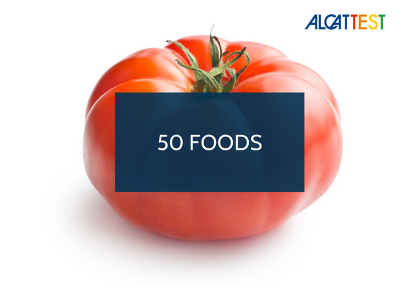 50 Foods - Alcat Test Panel