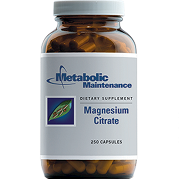 Metabolic Maintenance Magnesium Citrate 250 caps (MAG42)