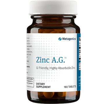 Metagenics Zinc A.G. 120 mg 180 tabs (ZN026)