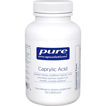 Pure Encapsulations Caprylic Acid 120 vcaps (CAP1)