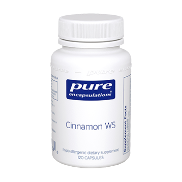 Pure Encapsulations Cinnamon WS 120 vcaps (CIN25)