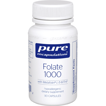 Pure Encapsulations Folate 1000 90 caps (PFOL19)