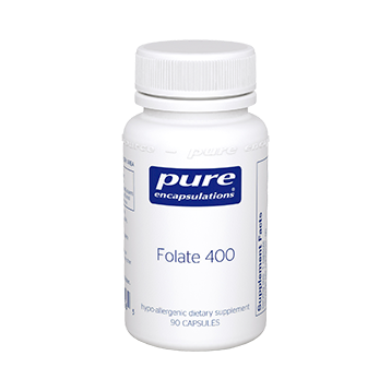 Pure Encapsulations Folate 400 mcg 90 vcaps (P13565)