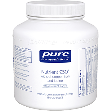 Pure Encapsulations Nutrient 950 without Copper, Iron, and Iodine 180 Vcaps (NUT21)