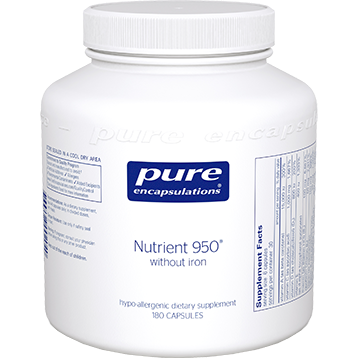 Pure Encapsulations Nutrient 950® without Iron 180 vcaps (NUT18)