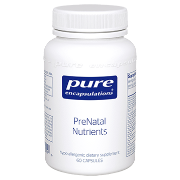Pure Encapsulations PreNatal Nutrients 60 vcaps (PRE23)