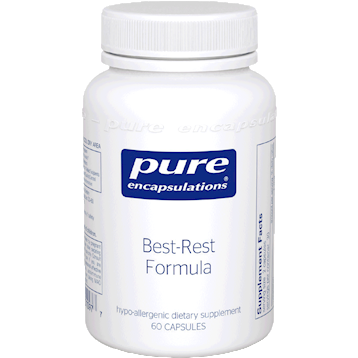 Pure Encapsulations Best Rest Formula 60 caps (BRF6)