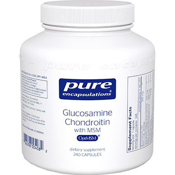 Pure Encapsulations Glucosamine Chondroitin with MSM 240 vcaps (GCS11)