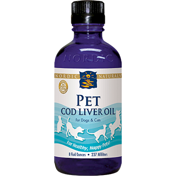 Nordic Naturals Pet Cod Liver Oil 8 oz (PETCO)