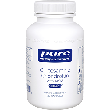 Pure Encapsulations Glucosamine Chondroitin with MSM 120 vcaps (GCS10)