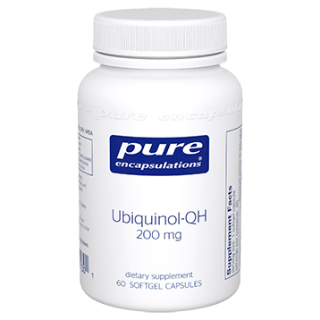 Pure Encapsulations Ubiquinol-QH 200 mg 60 gels (UQ26)