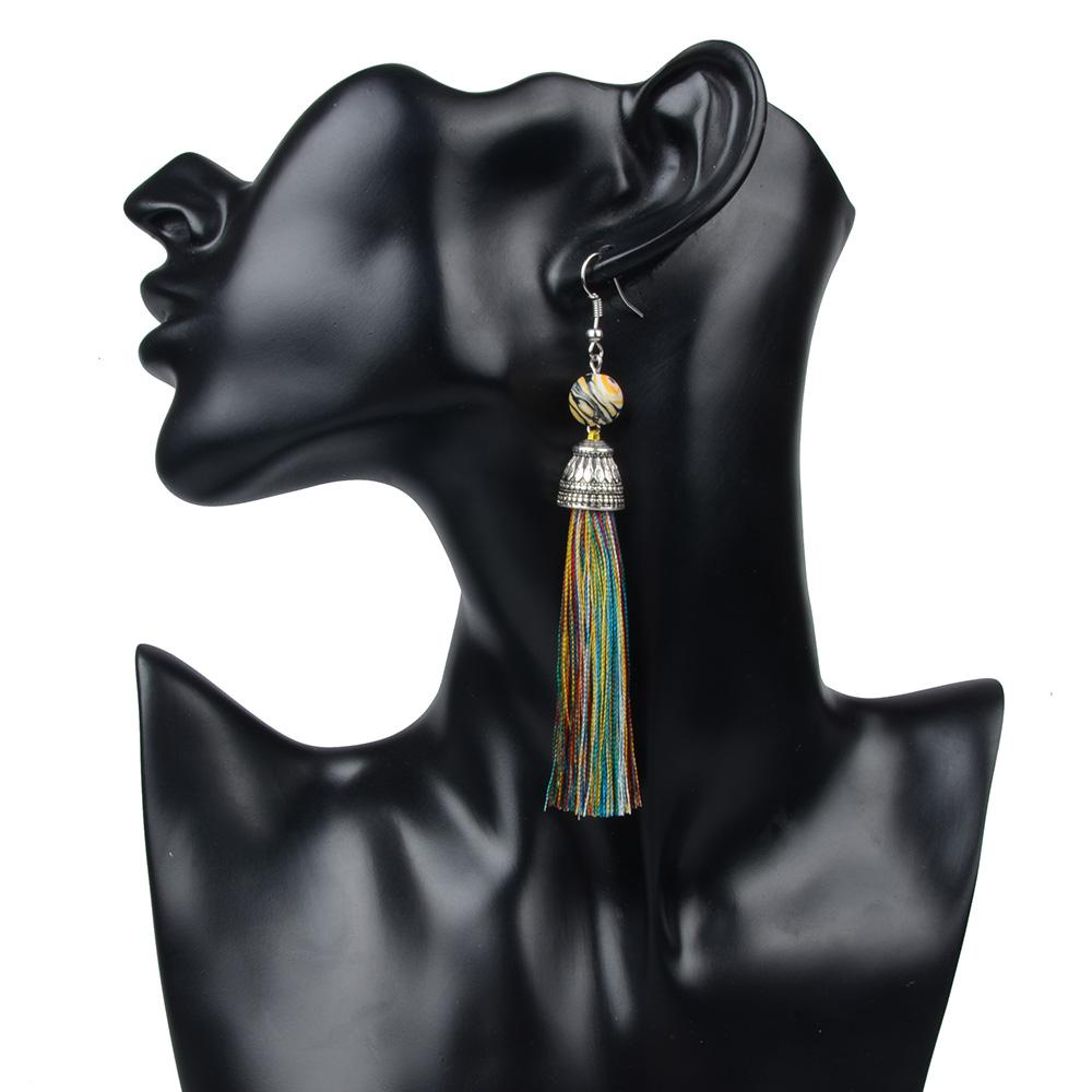 products earrings california stone riah shoptiques cropped front black wired natural from fashion image l
