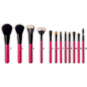 Set Of 12 Professional Brushes  Dermacol San Francisco