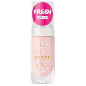 Dermacol Sheer Face Illuminator - Fresh Rose  Dermacol San Francisco