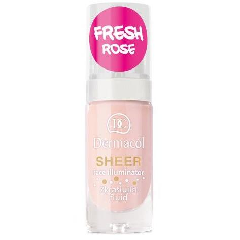 Sheer Face Illuminator - Fresh Rose  Dermacol San Francisco